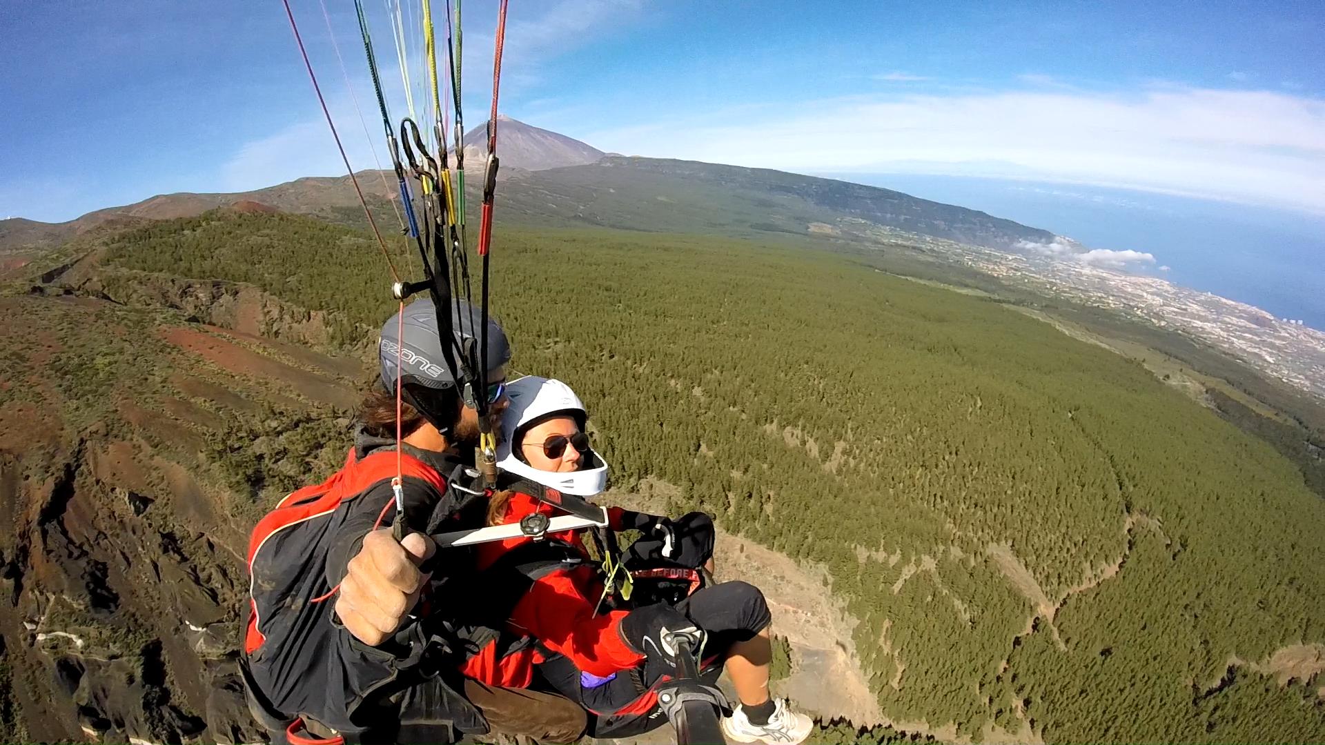 Fly Paragliding Tenerife Paragliding Izaña