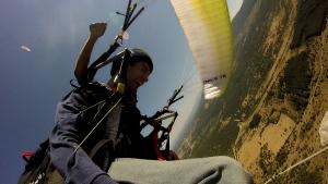 Fly Paragliding Tenerife, Paragliding Acro,Paragliding School Tenerife and El Hierro.