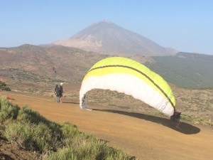 Fly paragliding Tenerife. Vuelo parapente Tenerife. Paragliding Izaña